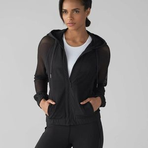 Lululemon Mesh on Mesh Jacket Black